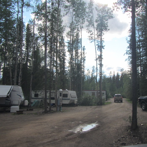 view of a campground